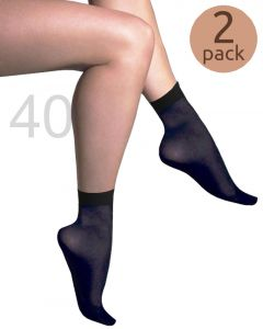 Caresse pantysokjes opaque 40 2-pack