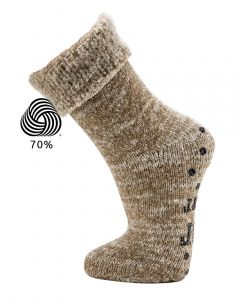 Topsocks huissokken Luxury Wool ABS