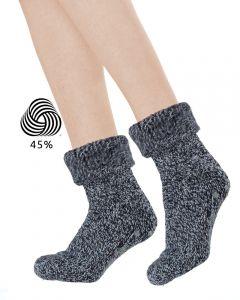 Topsocks huissokken met wol en anti-slip