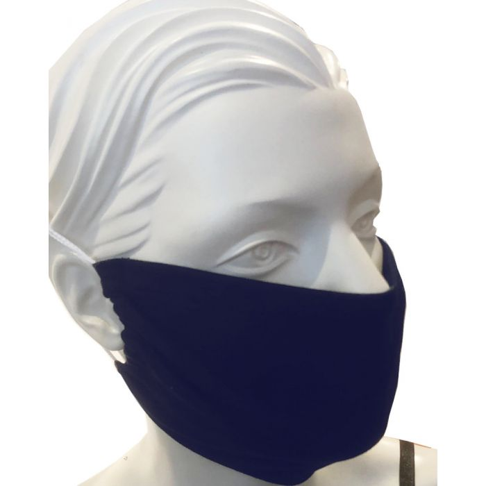 Herbruikbaar mondkapje katoen met filterpocket