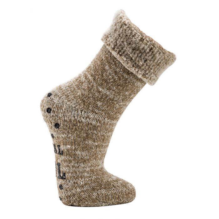 Topsocks huissokken Luxury Wool ABS